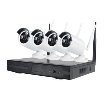 Kits de sécurité sans fil IPC H.264 NVR pour caméra IP prix usine