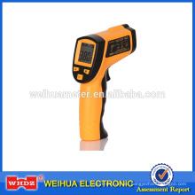 Termómetro infrarrojo WH380 Termómetro tipo pistola sin contacto industrial