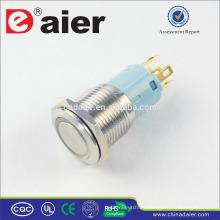 Interruptor de botón eléctrico a prueba de agua Daier LAS3-16F-11E 16 mm IP67