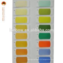 Tecido de spandex de viscose de poliéster colorido para forro de terno