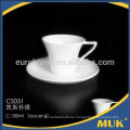 Compra a granel de porcelana de porcelana china taza de café platillo