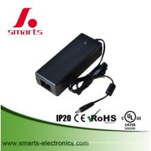 desktop type 12v 10a 120w power adapter with EU plug