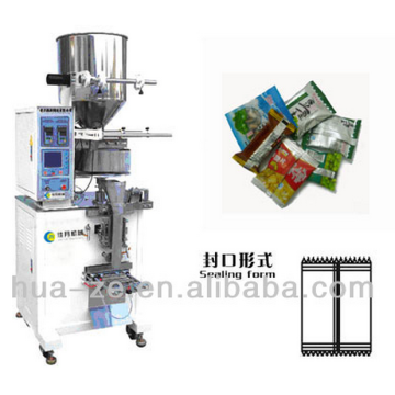 Granule vertical form fill seal machine