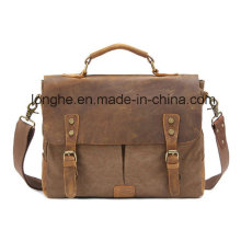 Retro Rivet Canvas Lady Handbag (LY0069)