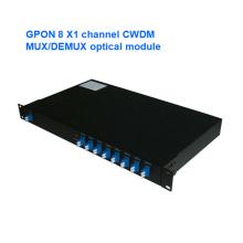 Gpon Kanal Mux / Demux Optisches Modul CWDM
