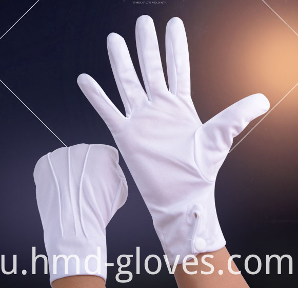 Nylon Snap Uniform Gloves 4