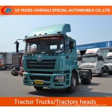 Shacman 4X2 Tractor Trucks, 385HP Tractors Heads