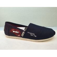 New Arrival Polka DOT Slip on Unisex Leisure Shoes