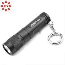 Faire en aluminium coloré LED Mini Keychain / Keyring avec lampe de poche