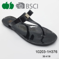 High Quality Latest Style Fashion Lady Pvc Jelly slipper