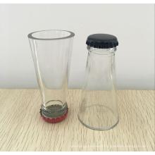 unique shaped shot wine glass