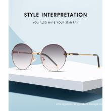 Luxury Hot Seller Round Metal Sunglasses