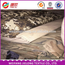 Proveedor de China con varios diseños de tejido de algodón y tela de camuflaje de poliéster para la fabricación de ropa