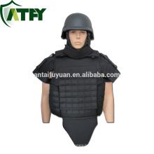 Full protection PE bulletproof vest molle body armor NIJ IIIA sale