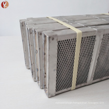Gr2 Titanium Anode Basket Used For Chemical Industry