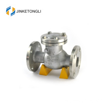 JKTLPC049 karet baja wafer flensed flensed steam check valve
