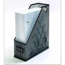 Стойка для журналов канцелярских принадлежностей из железной проволочной сетки