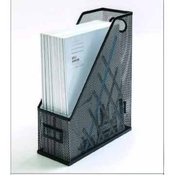 Iron Wire Mesh Office Stationery Magazine Rack