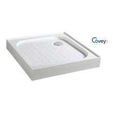 Base de ducha de acrílico cuadrada / bandeja de ducha para el mercado de la UE (A-CVS01)