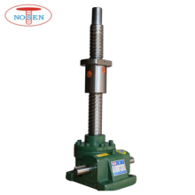 worm shaft screw jack lift with design nut