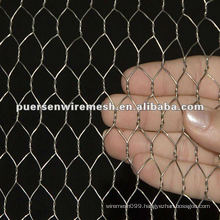 Hot dipped galvanized after Weave Hexagonal Wire Netting (CN-Anping)