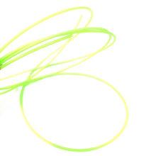 Tubo termoencolhível com luz fluorescente