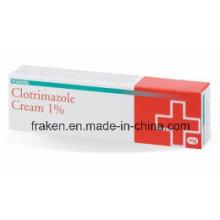 GMP Certified Clioquinol Cream & Clotrimazole Cream