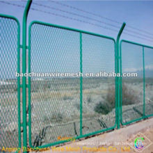 Temporary pvc coated expanded metal lath
