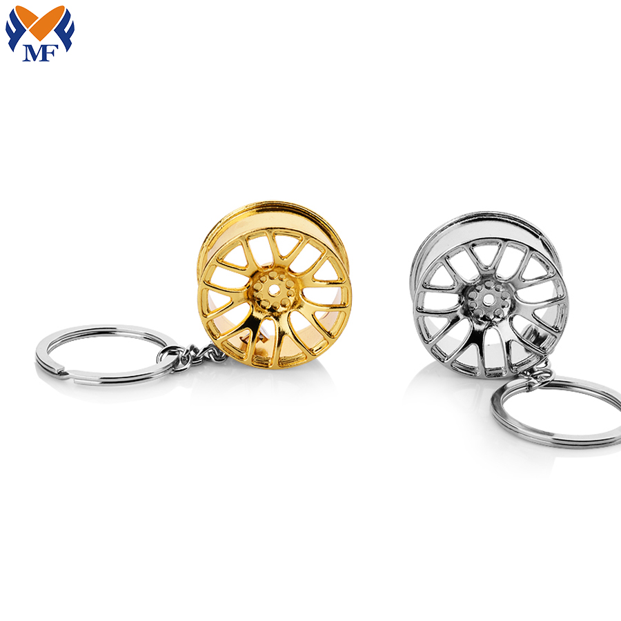 Car Wheel Keychain1 1