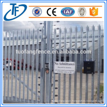 American Standard PVC Coated Steel Palisade Fence Made in Anping (China Supplier)