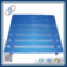 2-way single face powder coated steel pallet