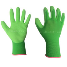 Латексная пена покрытием перчатки работы (LR3018F)