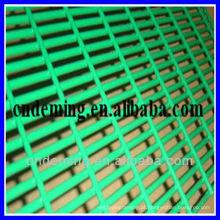 Usado de alta segurança 358 cerca de malha de arame para venda PVC revestido após malha de prisão galvanizada parede de arame