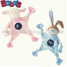 23cm Cordeiro Cordeiro Plush Bebê Consolador Brinquedo Coelho Azul Coelho Bebê Doudou