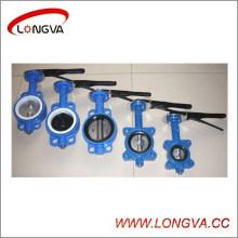 Válvula de mariposa del tipo de la oblea de Wenzhou con buen precio