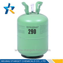 disposable cylinder refrigerant gas propane r290 for sale