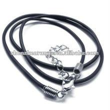2013 moda silício colar de jóias colar de borracha de silicone
