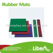 new style high quality exercise rubber mat LE-DD001