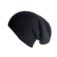 High Quality Blank Acrylic Knitted Beanie