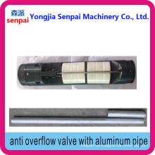 Válvula anti-rebose con dos tubos de aluminio