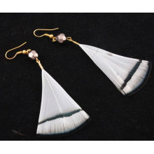 Hot Sale Fashion Natural Feather Earrings For Woman