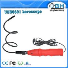 Vidéoscope à endoscope de police USB de haute qualité 8mm