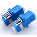 Penyesuai Optik Fiber Multimode LC / pc Duplex Adapter