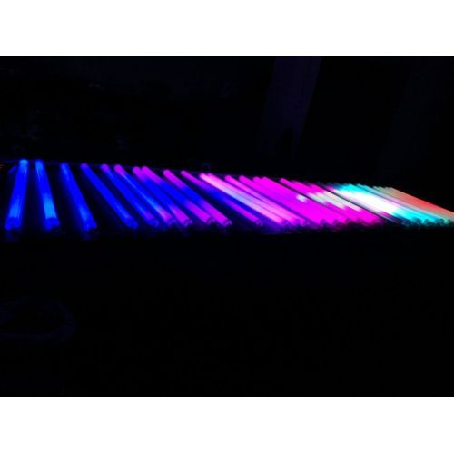 Iluminación decorativa RGB DMX512 led digital tube