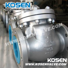 Литой стальной обратный клапан (H44)