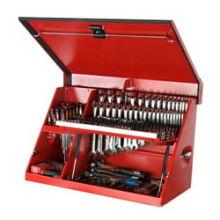 Hebegashalterungen für Werkzeugkästen