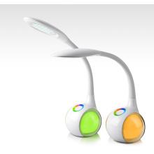 5W / 7W Touchable lámpara de escritorio de LED de luz colorida