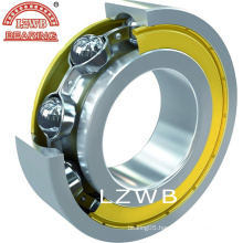 ISO Certificated Deep Groove Ball Bearing with Black Corner (6302-2RS)