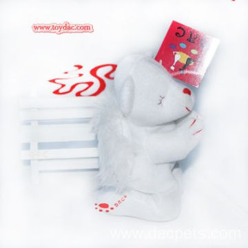 Plush white Polar Bear  prayer