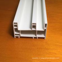 Profilés PVC à trois voies pour fenêtres et portes
